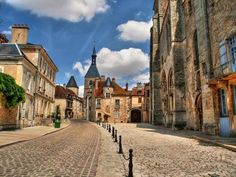 Avallon, Bourgogne, France.