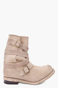 JEFFREY CAMPBELL - Taupe Suede Brit Man Boots Man Boots, Jeffrey Campbell,  Second Skin 790c6f9ad89