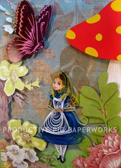 Alice in Wonderland Quilling