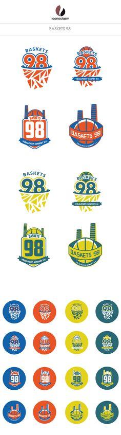 Basketball Logo    Baskets 98 160edabed24c2