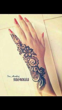 Simple Arabic Mehndi Designs, Mehndi Designs 2018, Stylish Mehndi Designs, Mehndi Designs For Girls, Mehndi Designs For Beginners, Dulhan Mehndi Designs, Mehndi Design Pictures, Beautiful Mehndi Design, Henna Tattoo Designs