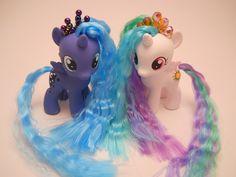 Celestia and Luna as fillies! SOOOOOOOOOOOOO ADORABLE! :D