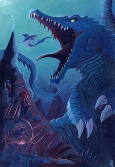 Underwater Predator by Guillermo de Abajo Mohedano