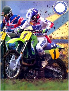Jeff Ward - 1987 MX Des Nations...