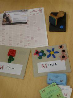 """Algunos de los resultados del taller """"Mosaico de las Estaciones"""""""