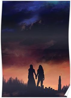 Clarke and Lexa - Earth Meets the Sky by Roos-Vicee Lexa The 100, The 100 Clexa, The 100 Characters, Clarke And Lexa, The 100 Show, Bellarke, The Hundreds, We Meet Again, Film Serie