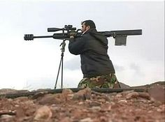 New home-made Arash 20mm anti-material rifle enters in service with Iranian Army