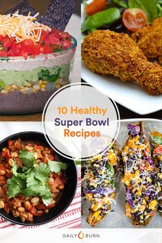 10 Healthy Super Bowl Snacks to Win Your Party