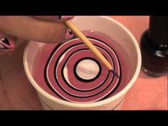 Water Marble Nails tutorial