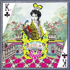 Maison Christian Lacroix celebrates our king of the day, happy Fathers's day! #ChristianLacroix #Celebration #Fetedesperes #fathersday #king #game #cards