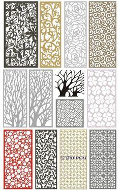 Decorative Metal Screen, Decorative Panels, Screen Design, Gate Design, Room Interior, Interior Design Living Room, Jaali Design, Cnc Cutting Design, Pooja Room Door Design
