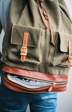 Hi-King Backpack, I want this bag with it's shoe compartment.