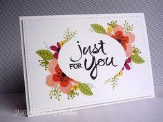 """""""Botanical Blooms"""", """"Botanicals for you"""", flower sketch, masking, My Sandbox"""