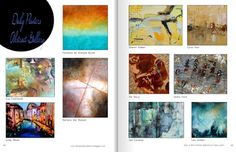 Daily Painters Abstract Gallery: Lindy Wiese in Where ART Lives Magazine