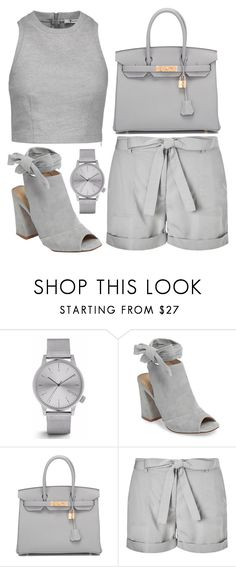 """""""Friday fashion"""" by j-n-a ❤ liked on Polyvore featuring Komono, Kristin Cavallari, Hermès, Phase Eight and T By Alexander Wang"""