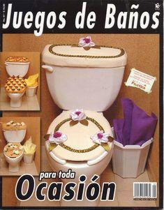 Revistas de manualidades Gratis: Como hacer juegos de baño Sunbonnet Sue, Rubrics, Lunch Box, Crochet Patterns, Diy Crafts, Crafty, Sewing, Tableware, Christmas