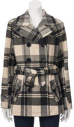 Juniors' Urban Republic Wool Blend Peacoat Wool Blend, Teen, Urban, Stylish, Girls, Sweaters, Fashion, Toddler Girls, Moda