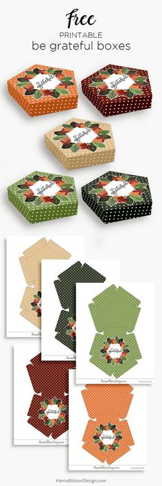 Be grateful treat boxes Holiday Crafts, Holiday Fun, Christmas Crafts, Cheap Christmas, Handmade Christmas, Christmas Decorations, Christmas Tree, Envelopes, Packaging Box