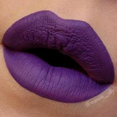 "❖ PURPLE LOVE ❖ Hello my lovelies <3 Can we please take a moment to admire this beauty ? I think I found the most perfect purple... here is ""Pansy"" velvetine from @limecrimemakeup !! The color is amazing, the formula is really great, the result is even... I'm in love ! If you love périple lippies, you seriously need this, it's like nothing else in the market ! If you have it, tell me what you think !! #limecrime #pansy #limecrimepansy #velvetines Web Instagram User » Collecto"