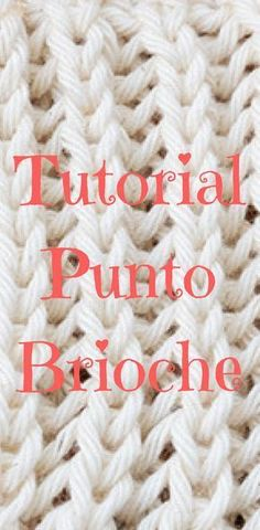 How to make the Brioche Point in two needles step by step A thick point, . Crochet Unicorn Pattern Free, Crochet Unicorn Hat, Crochet Baby, Knit Crochet, Irish Crochet, Crochet Shoes, Crochet Purses, Knitting Stitches, Knitting Patterns