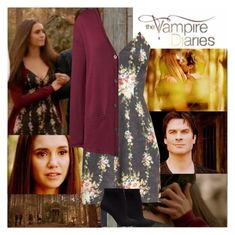 """TVD~Elena Gilbert~8x16~I Was Feeling Epic"" by tvshowobsessed ❤ liked on Polyvore featuring Piet Hein Eek and Lands' End"