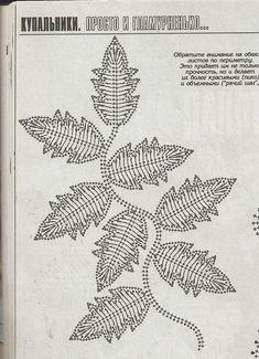 feuilles en crochet 3