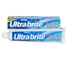 Ultra Brite Clean Mint Advanced Whitening Toothpaste, 6-oz. Tube