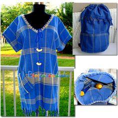 Rengarenkoku: Peştemal elbise ve sırt çantası.Lütfen fiyat bilgisi ve siparişleriniz için rengarenkoku@gmail.com adresine e- posta yollayınız.instagram adresimizden facebook sayfamızdan da tasarımlarımızı izleyebilirsiniz..