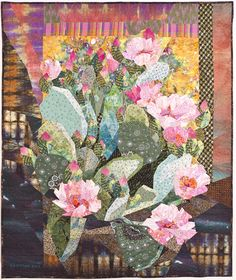 Prickly Pear Quilt by Ruth B. McDowell