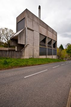 Dingleton Asylum Boiler House, Melrose  Peter Womersley, 1977