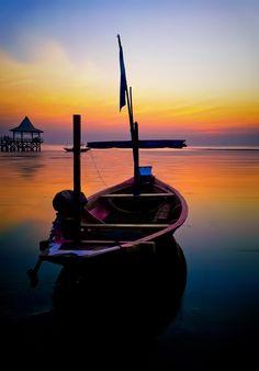 Madura sunrise, Malaysia