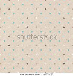polka dots, spring colors