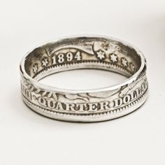 rings made from real currency