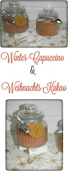 Winter-Capuccino & Weihnachts-Kakao aus dem Thermomix. Schnell zubereitet und ein tolles Geschenk. (scheduled via http://www.tailwindapp.com?utm_source=pinterest&utm_medium=twpin&utm_content=post118319961&utm_campaign=scheduler_attribution)