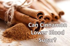 Have you heard that cinnamon can lower blood sugar levels? And has other benefits for diabetes? High Blood Sugar Causes, Blood Sugar Symptoms, Lower Blood Sugar Naturally, Reduce Blood Sugar, Diabetes Blood Sugar Levels, Sugar Diabetes, Cure Diabetes, Diabetes Remedies, Diabetes Diet