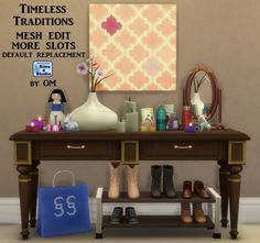 Timeless traditions mesh edit   more slots by OM at Sims 4 Studio • Sims 4 Updates