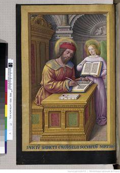 Titre :  Grandes Heures d'Anne de Bretagne.  Date d'édition :  1505-1510 , Latin 9474  Folio 21v