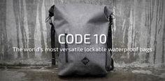 Code 10 - Waterproof, Theft-Proof, Tech-Ready backpacks by Code 10 (Charles Kelly/Chris Stammbach) — Kickstarter