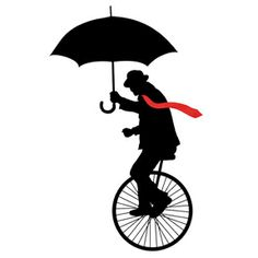 unicycle Penny Farthing, Surf Shirt, Unicycle, Send In The Clowns, Wheeling, Vintage Party, Mix Media, Cycling, Hobbies