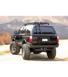 Toyota 4runner 1995 2002 Stealth Rack With Sunroof Gobi Racks Toyota 4runner 4runner Toyota 4runner 1995