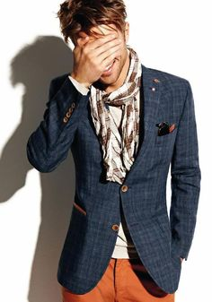 I'm so excited for scarf season. #mens #style #kysa
