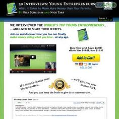 [GET] Download 50 Interviews: Young Entrepreneurs - Make More Money Than Parents Bonus! : http://inoii.com/go.php?target=50wise