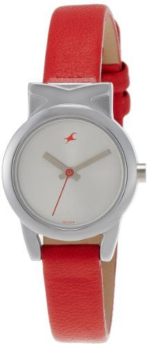 Fastrack Fits and Forms Analog Silver Dial Women's Watch - http://brandedstore.in/product/fastrack-fits-and-forms-analog-silver-dial-womens-watch-6088sl02/