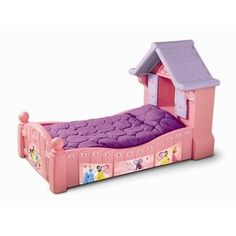Little Tikes Doll House Toddler Bed Like New Rare In