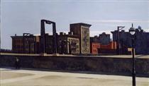 Manhattan Bridge Loop - Edward Hopper