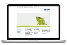 NewRe Brand Identity & Design #brand #branding #corporate #design #corporatedesign #identity #logo #stationary Corporate Strategy, Corporate Design, Brand Identity Design, Stationary, Branding, Logo, Logos, Brand Design, Brand Identity