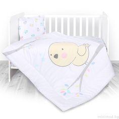 7ff003693f3 LORELLI Спален комплект 3 части Пиленца - бял - MiniMod Toddler Bed, Infant  Bed