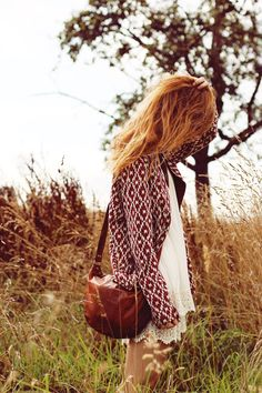 """""""Anna"""" Umhängetasche Ledertasche Nature Leder Tasche Handtasche braun Vintage H5"""