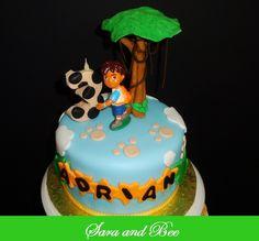 Go Diego Go! Birthday Cake