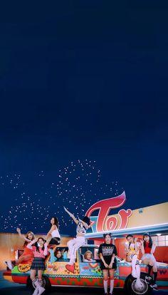 Twice Walpaper Tzuyu Wallpaper, Sea Wallpaper, Screen Wallpaper, Wallpaper Backgrounds, Kpop Girl Groups, Kpop Girls, Twice Group, Twice Fanart, Twice Album